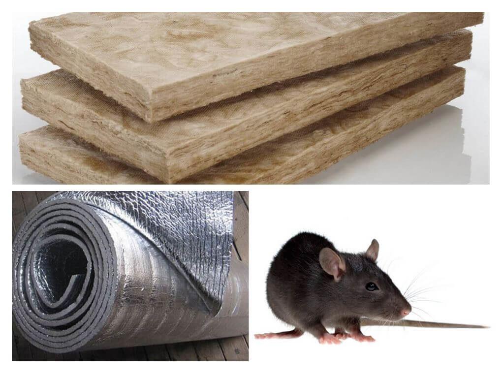 Какой утеплитель не грызут мыши и крысы