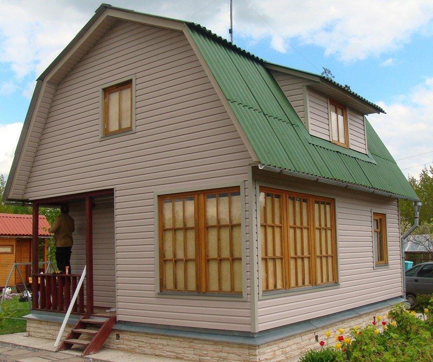 Обшивка дома снаружи — чем дешевле