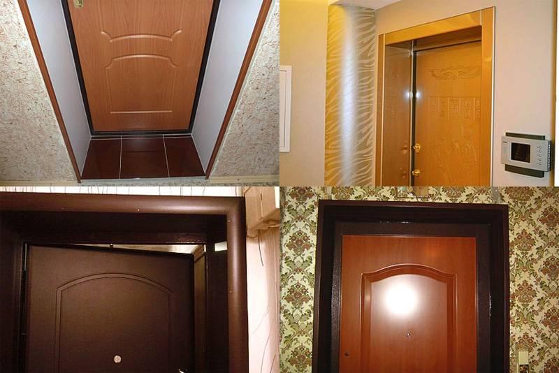 Делаем откосы для входных дверей своими руками. отделка дверного проема после замены двери.