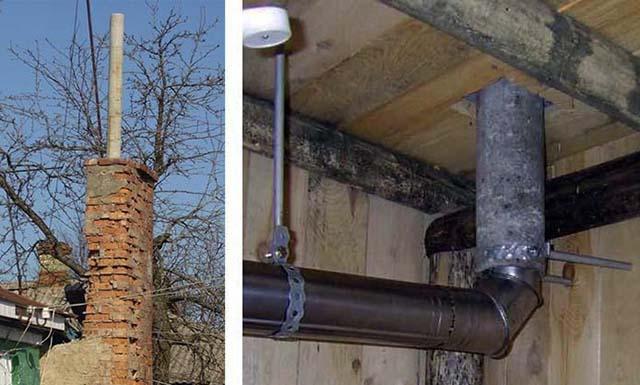 Асбестовая труба для дымохода: можно ли использовать, плюсы и минусы