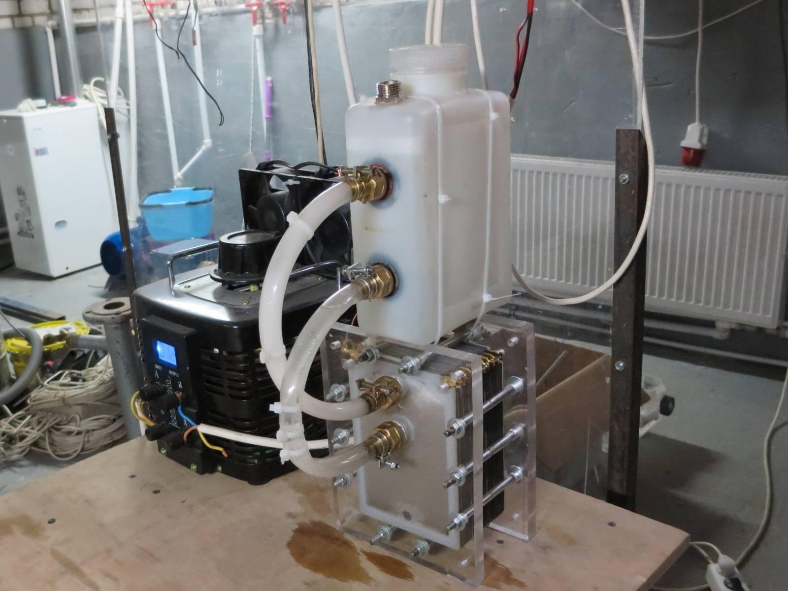 Водородный генератор для отопления своими руками – инструкция по производству