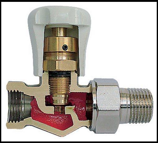 Установка и замена кранов на радиаторы отопления