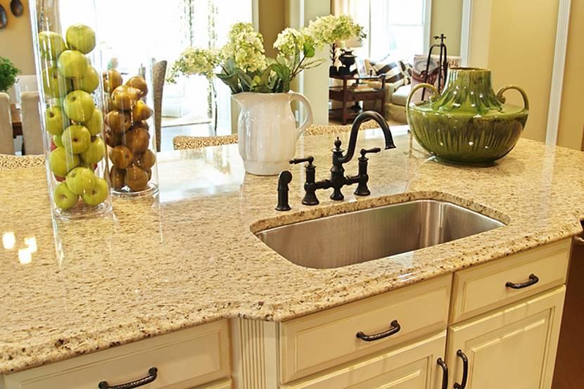 Как подобрать столешницу для кухни по цвету - удачные сочетания