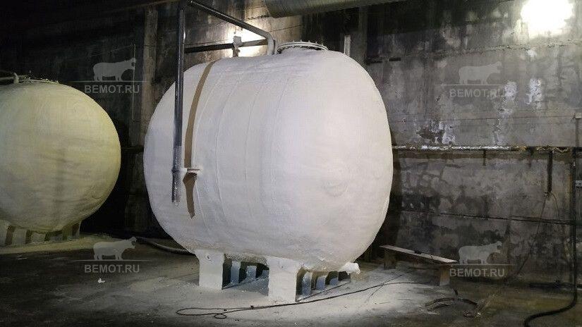 Емкости утепление -теплоизоляция емкостей и цистерн