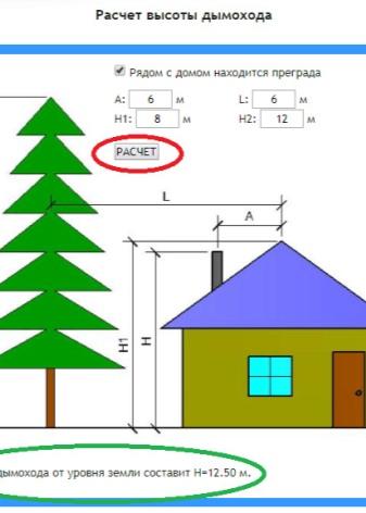 Кирпичные дымовые трубы: расчет параметров и кладка