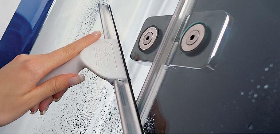 Чем отмыть душевую кабину от известкового налета и мыльных разводов в домашних условиях