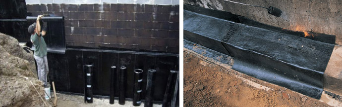 Технониколь для гидроизоляции фундамента и технология его укладки