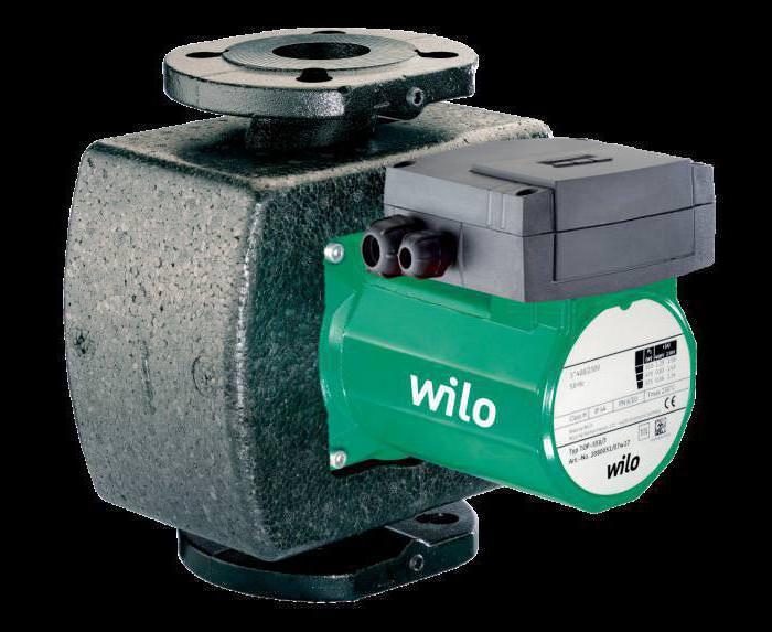 Циркуляционный насос wilo (вило) для отопления дома