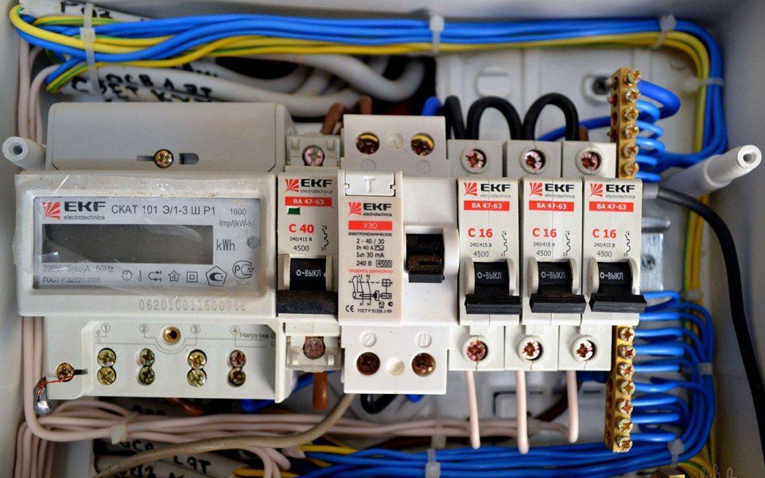 Установка счетчиков электроэнергии — особенности монтажа