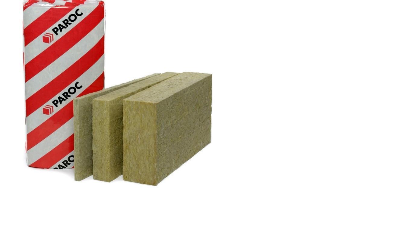 Каменная вата paroc: свойства и область применения