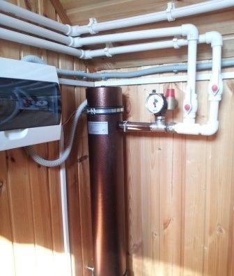 Индукционный электрический котел отопления и его схема