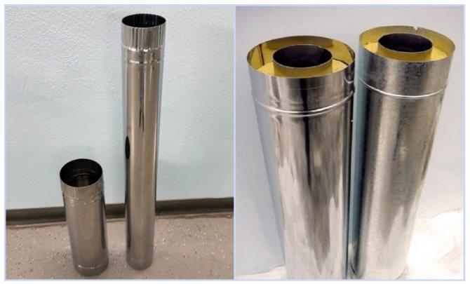 Как и чем изолировать трубу дымохода металлическую для газового котла или печную в гараже, бане и частном доме