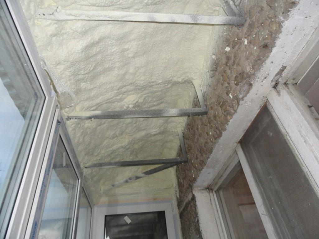 Как утеплить балкон изнутри своими руками в панельном доме пошагово