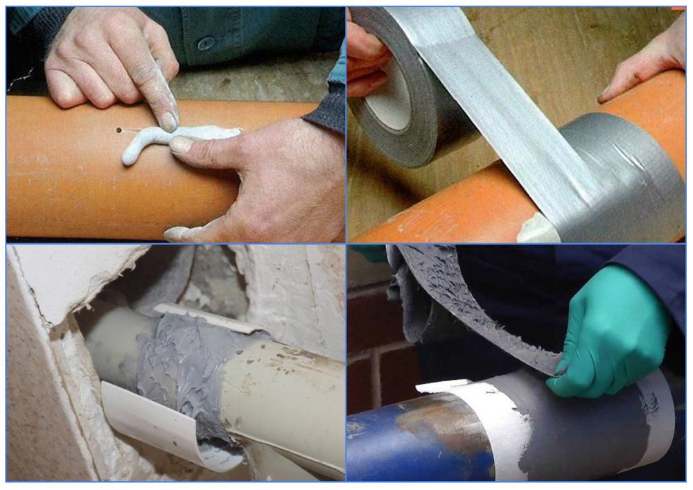 Как устранить течь в пластиковой трубе – варианты заделки протечки