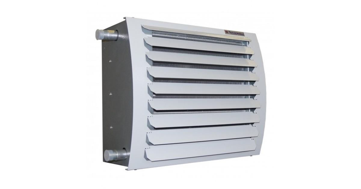 Выбор тепловентилятора на горячей воде и принцип его действия