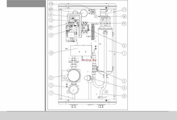 Электрический котел kospel ekco l2 4 квт с циркуляционным насосом и недельным программатором в комплекте, 6 ступеней мощности - в спб   kospel.spb.ru