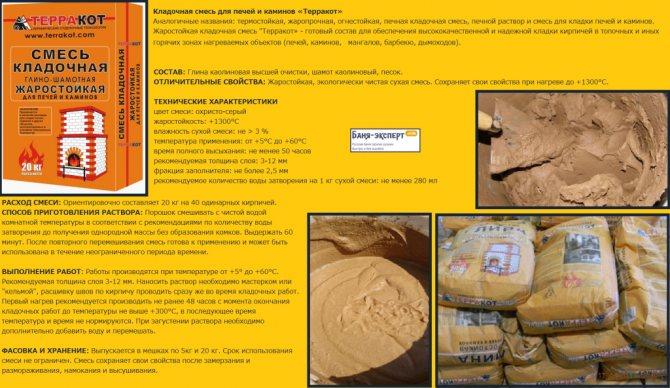 Как приготовить смесь для кладки печи: пропорции и 3 способа приготовления