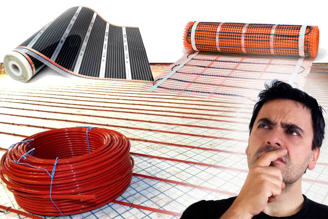 Теплый пол: сколько он «съест» электричества и как экономить?