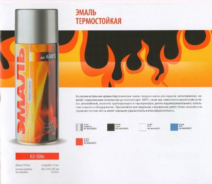 Термостойкие краски: основные виды, особенности применения