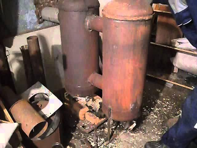 Изготовление пиролизной печи для дома и бани своими руками