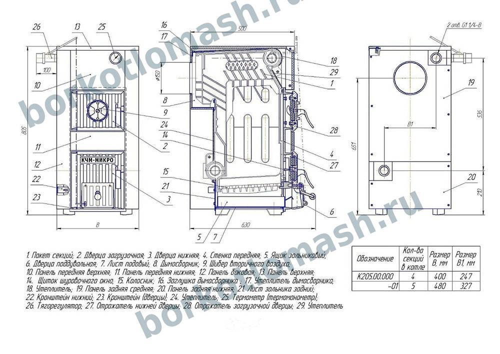 Твердотопливный котел дон 16: технические характеристики и отзывы