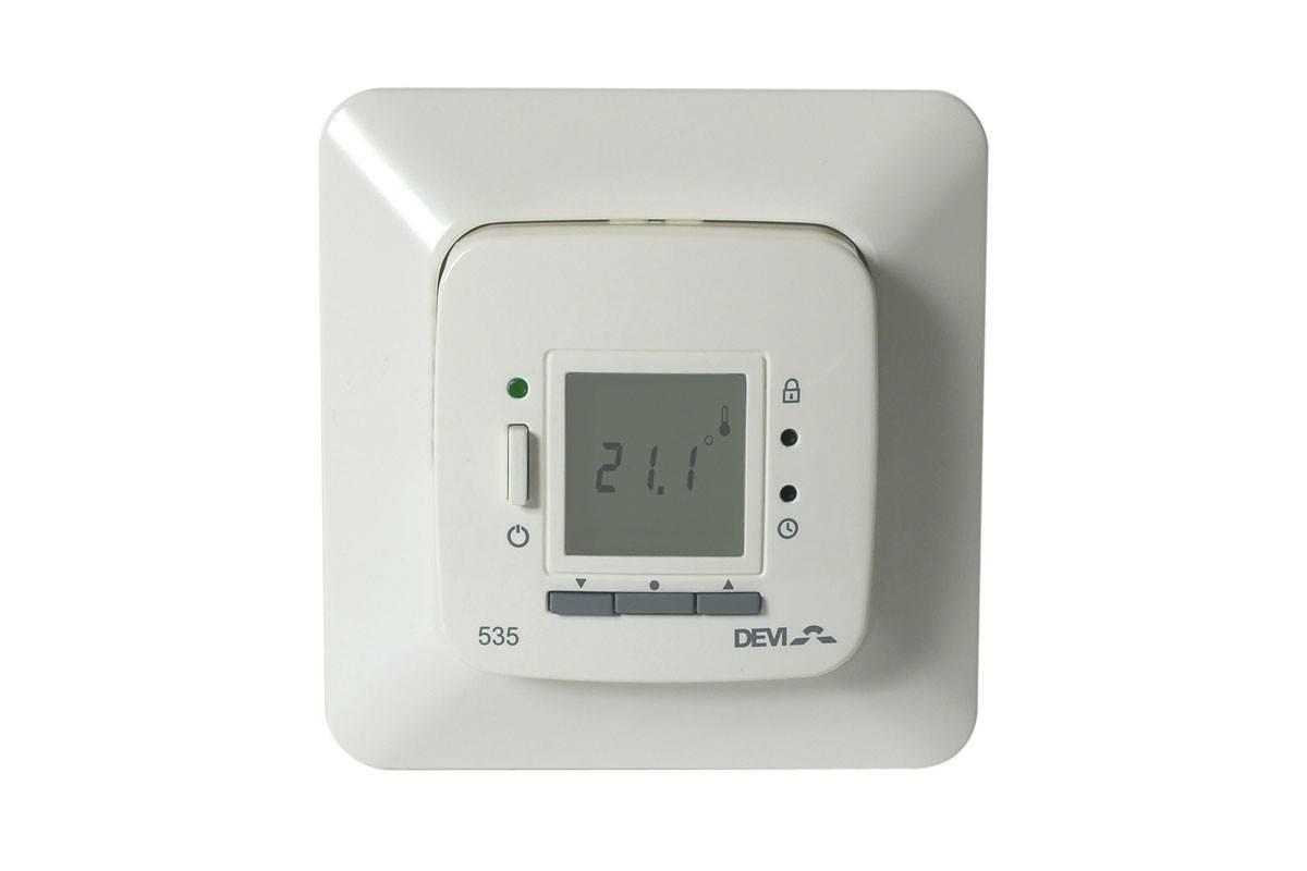 Терморегулятор для тёплого пола devi: обзор, правила установки