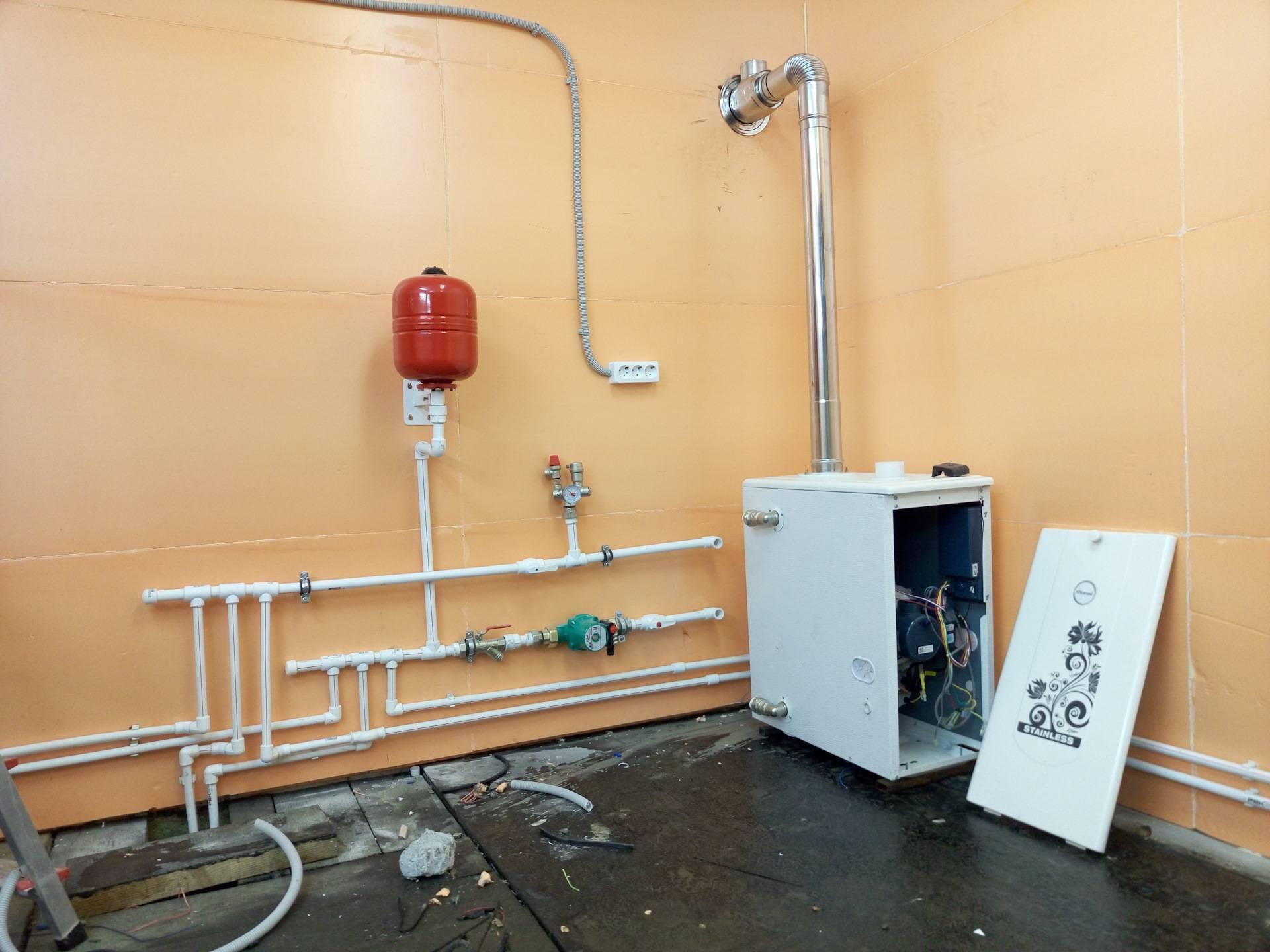 Отопление гаража своими руками - экономно, практично, безопасно. типы отопительных систем