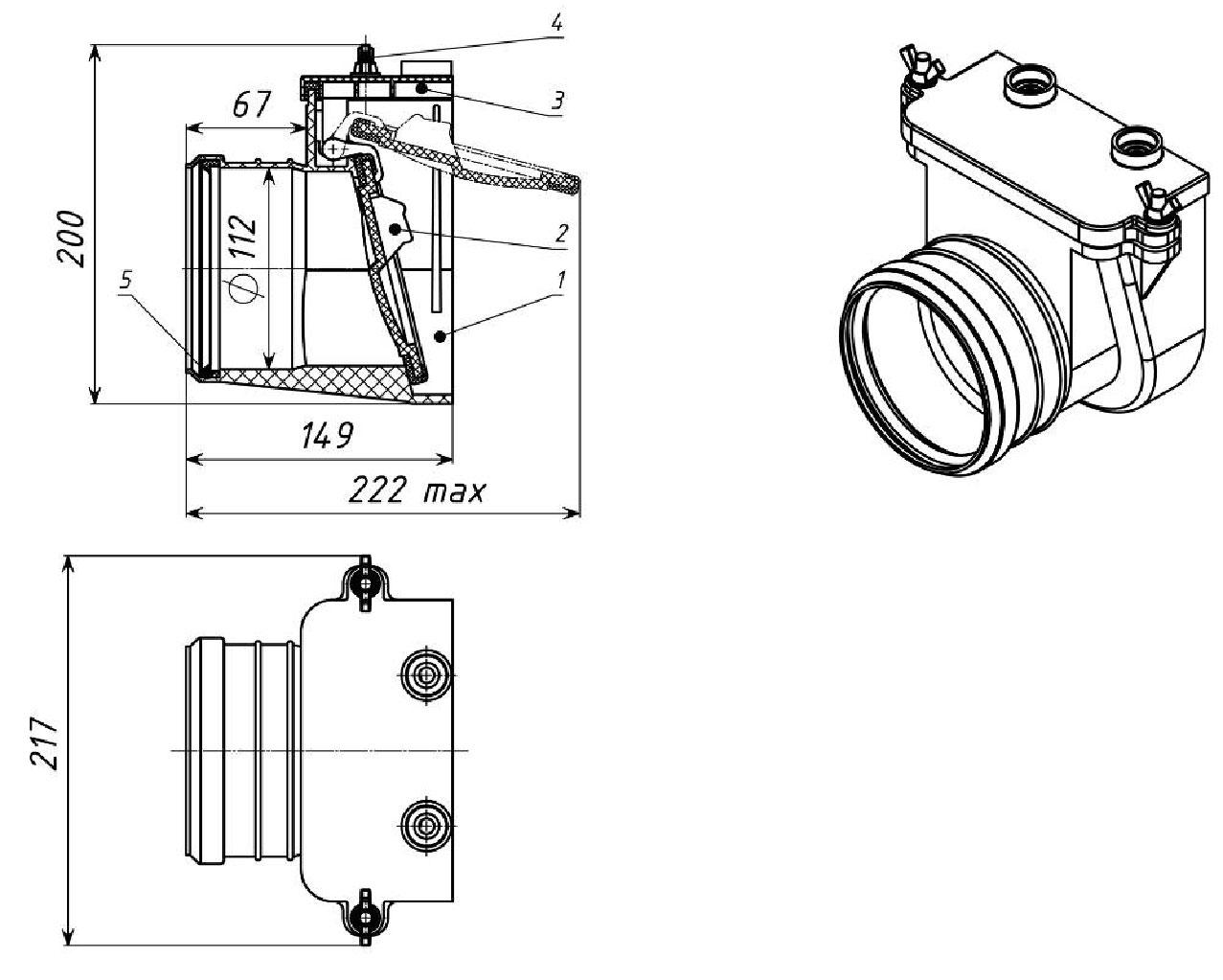 Установка и параметры обратного клапана для унитаза
