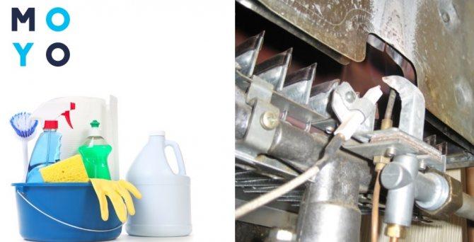 Как почистить теплообменник газовой колонки от накипи в домашних условиях, не снимая?