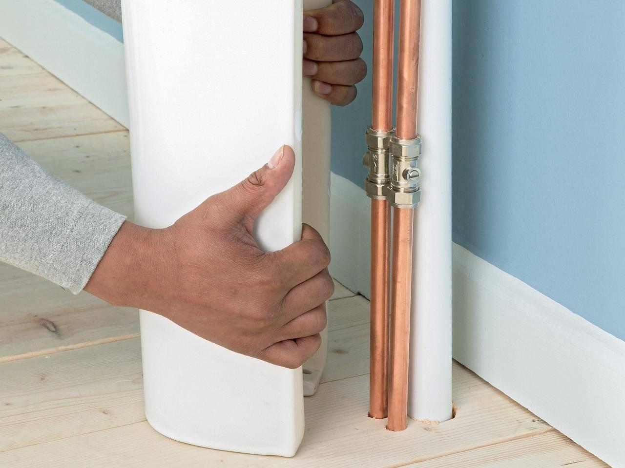 Как задекорировать трубы отопления