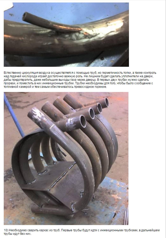 Печь булерьян своими руками – схема, чертеж, 20 фото с процессом и примерами работ