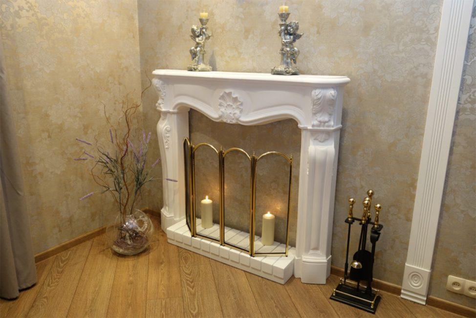 Декоративный камин своими руками для квартиры и не только