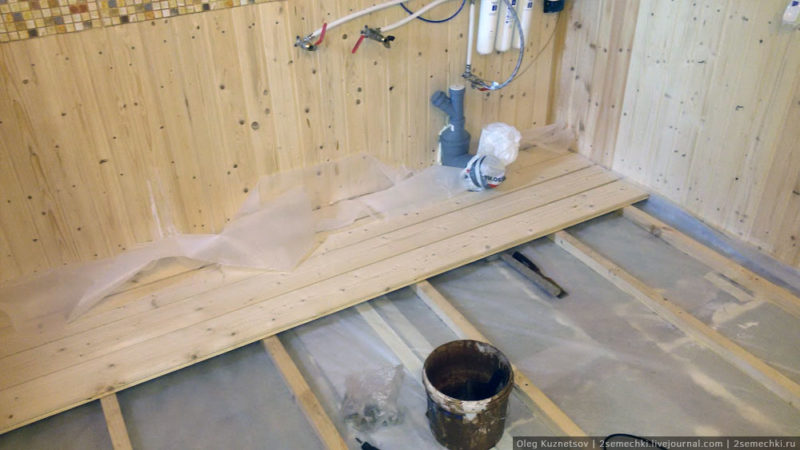Как утеплить пол в бане: различные варианты в зависимости от конструкции и типа помещения