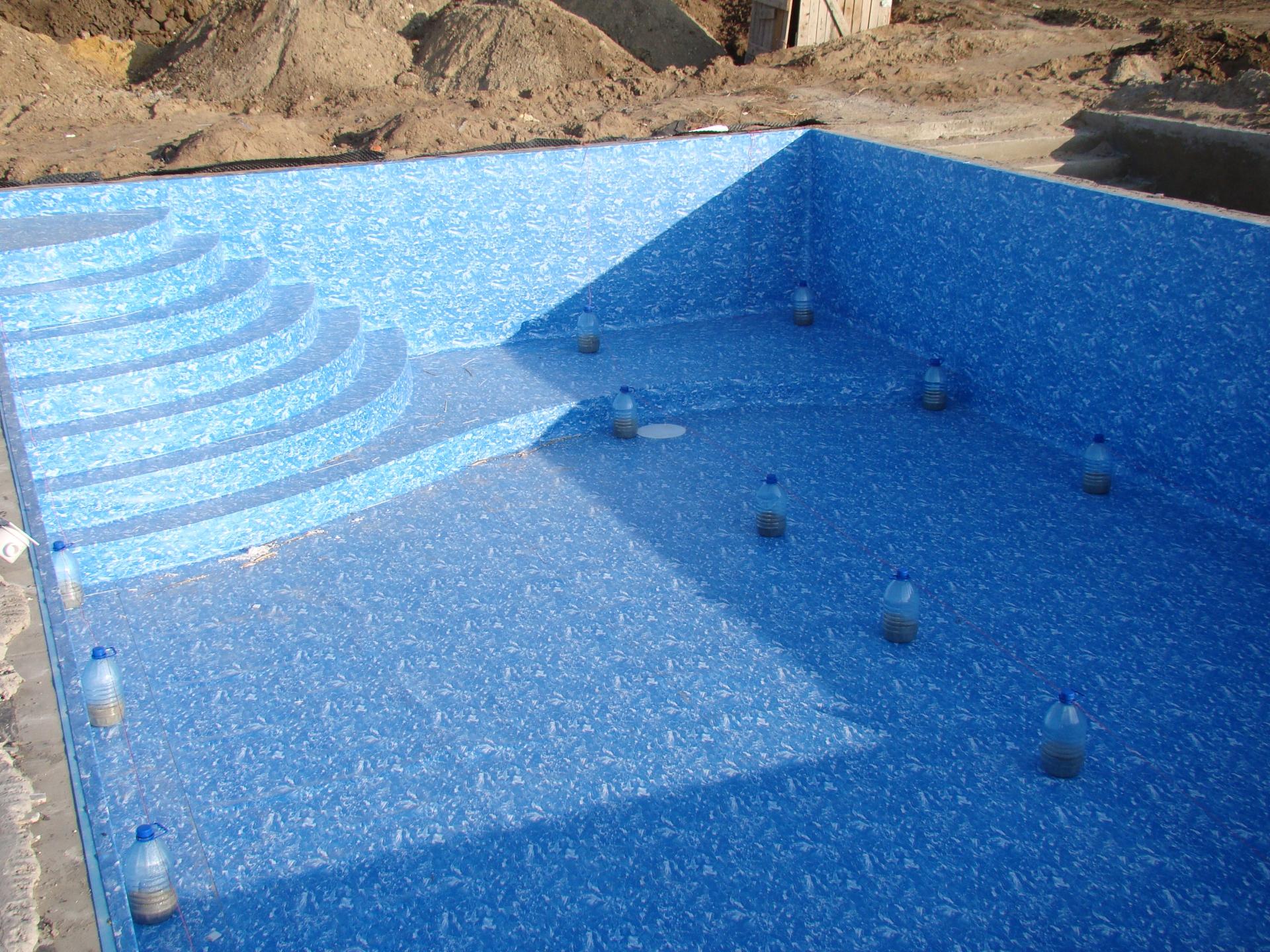 Утепление бассейна: технология теплоизоляции
