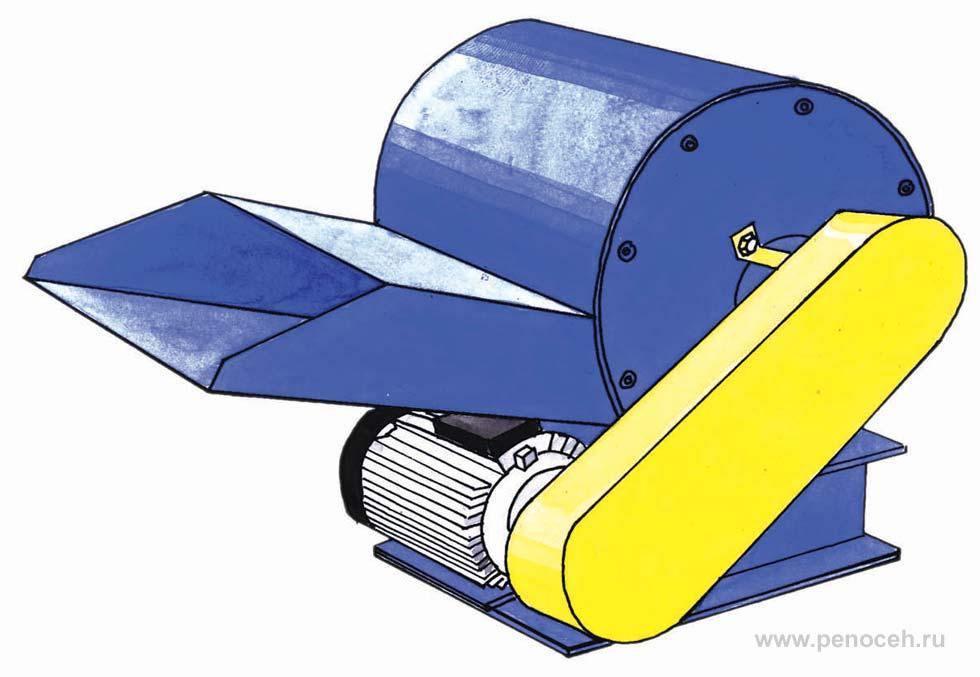 Дробилка пенопласта своими руками из пылесоса