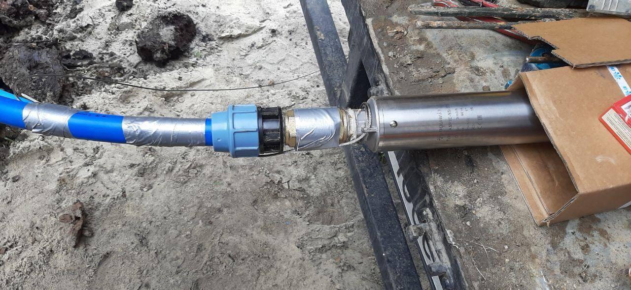 Как заменить насос в скважине на воду?