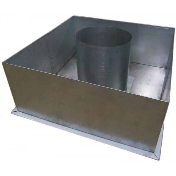 Потолочная разделка для бани проводим дымоход правильно