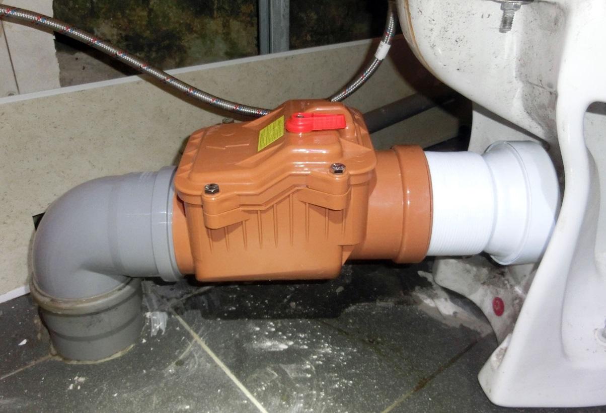 Обратный клапан для канализации: устройство и принцип работы канализационного обратного клапана