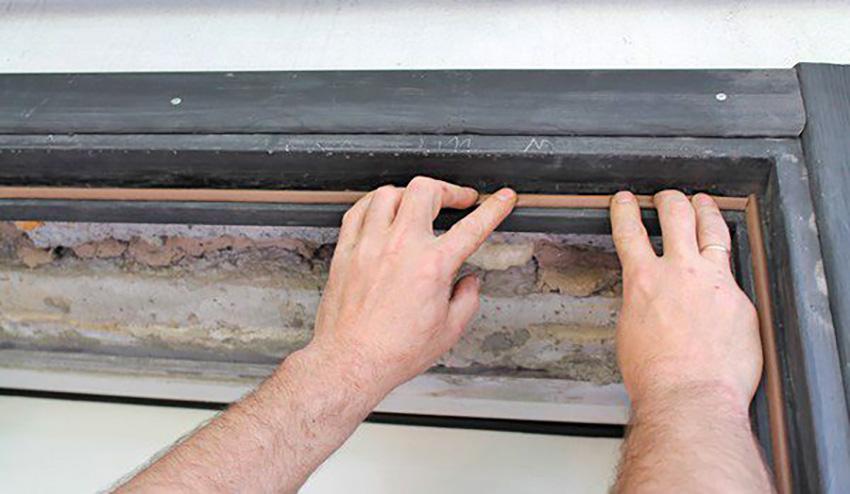 Как утеплить входную металлическую дверь — полотно, коробка, щели