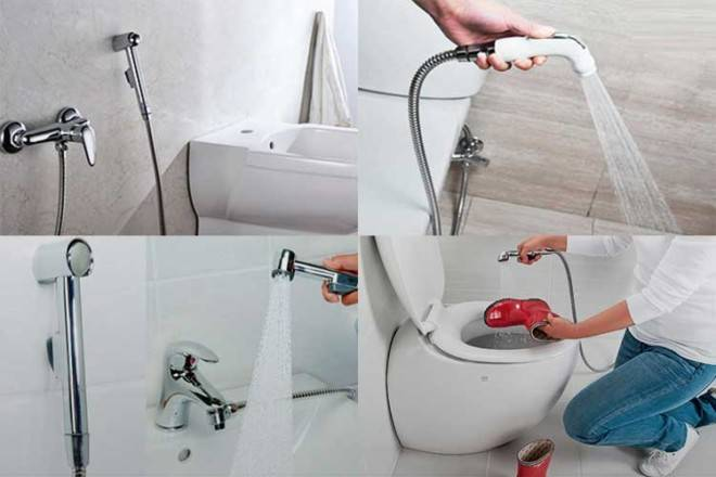 Как установить гигиенический душ в туалете - монтаж своими руками