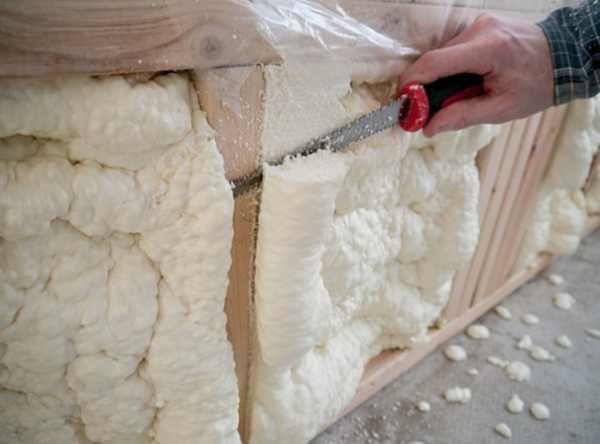 Утепление стен пеноизолом своими руками: пошаговый монтаж