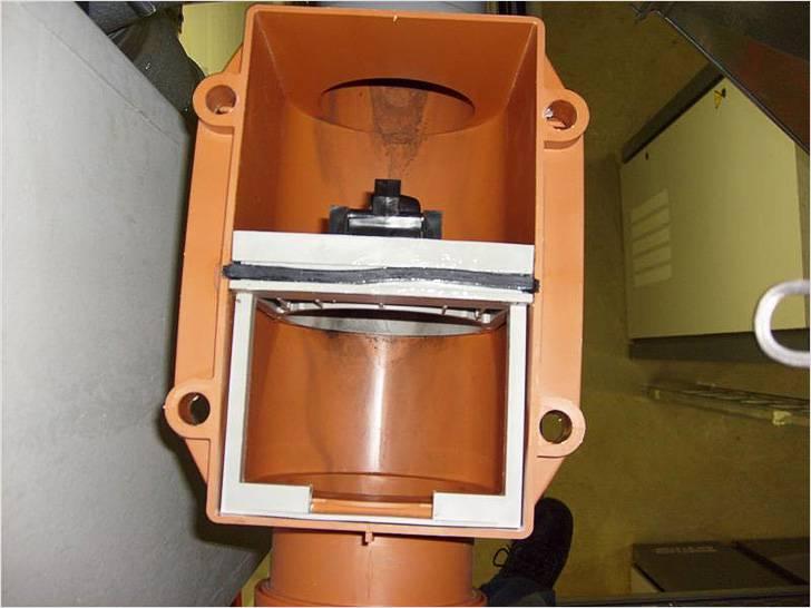 Обратный клапан для канализации. устройство, принцип работы