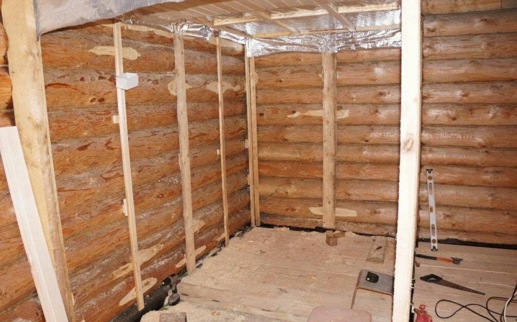 Деревянные бани: утепление бани из бруса изнутри или снаружи, утепление парной, минеральной ватой или чем еще, и нужно ли оно вообще?