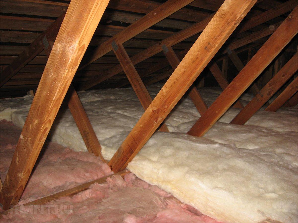 Утепление потолка в доме с холодной крышей – выбор материалов и схемы монтажа
