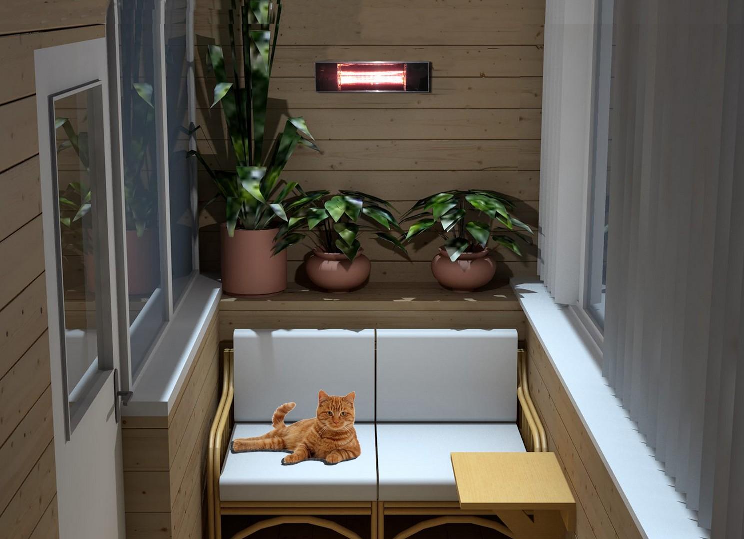 Выбираем наилучший обогреватель для вашего балкона или лоджии