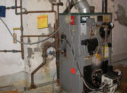 Схема отопления частного дома с газовым котлом: схема установки и обвязки газового котла