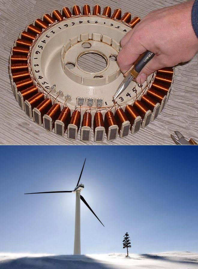 Как сделать ветрогенератор своими руками: самодельный ветряк из стиральной машины, асинхронного двигателя или пластиковых бутылок на 220в, видео о генераторе
