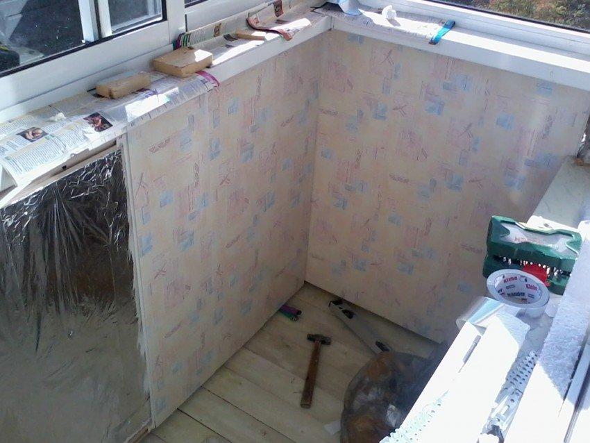 Как изнутри обшить балкон и лоджию пластиковыми панелями