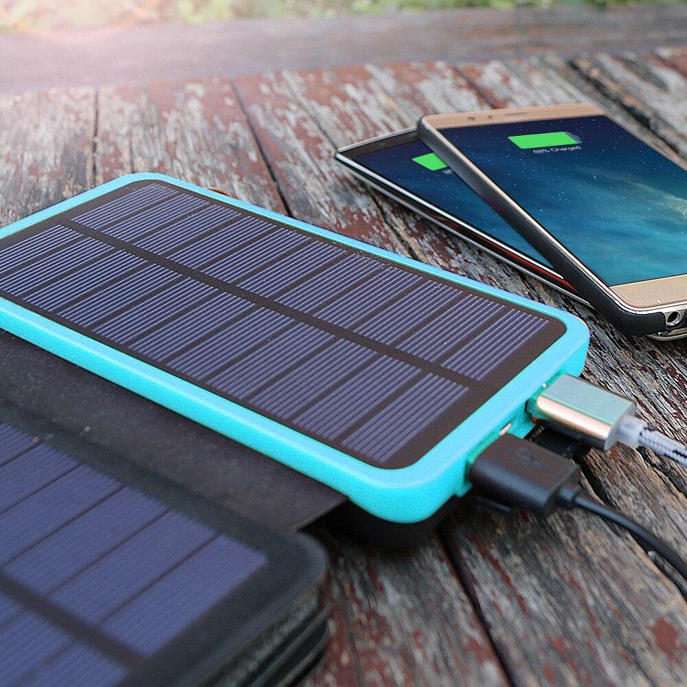 Повер банк с солнечной батареей: мифы и реальность