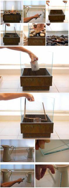 Горелка для биокамина своими руками: виды самоделок + инструкции